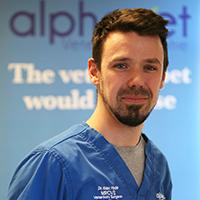 Dr Alex Hyde - BVetMed CertSAS MRCVS
