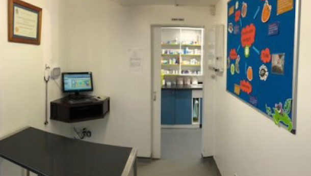 Consult room one