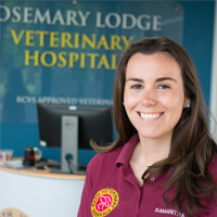Dr Samantha Lane - BVSc PGCert (SAS) (MRCVS) RCVS Advanced Practitioner in Small Animal Surgery