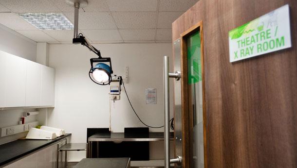 Theatre / x-ray room
