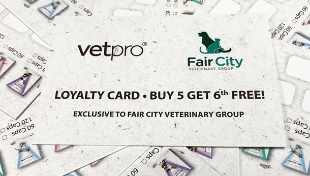 vetpro loyalty cards