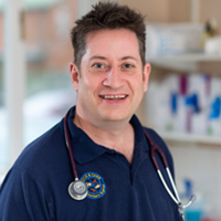 James Garland - BVSc, GPcert (SAS), CertAVP(GSAS), MRCVS, RCVS advanced practitioner in general small animal surgery.
