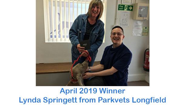 Lynda Springett - Parkvets Longfield - April 2019