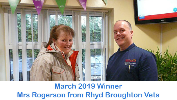 Mrs Rogerson - Rhyd Broughton - March 2019