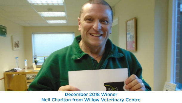 Neil Charlton - Willow Vets - December 2018