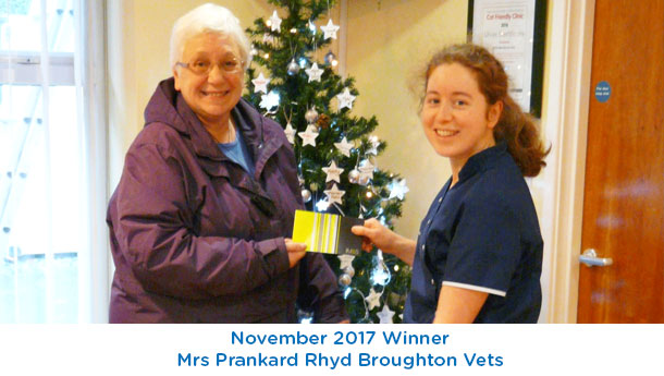 Mrs Prankard - Rhyd Broughton - November 2017
