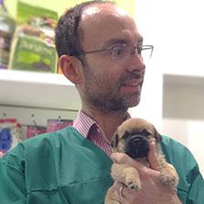 Dr Roland Sabin  - BVetMed MRCVS