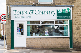 Town and Country Vets - Clayton-le-Moors