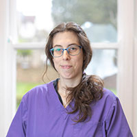 Dr Clara Ballber - CertAVP(SAM) MRCVS